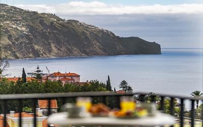 Portugalija. Madeiros sala. Dorisol Buganvilia