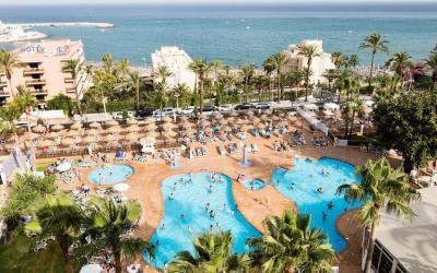 Ispanija. Malaga. Benalmedena. Best Siroco Hotel