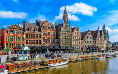 Gentas, Belgija