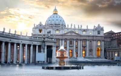 v. Petro bazilika, Roma