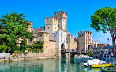 Viduramžių pilis, Sirmione