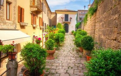 San Marino gatvės