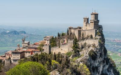 Guaita tvirtovė, San Marinas