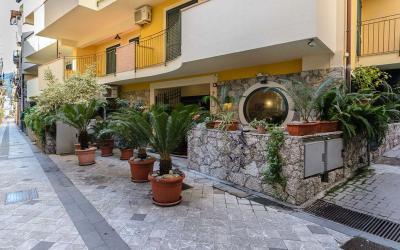 Italija. Sicilijos sala. Taormina. Letojanis. Le Tartarughe Hotel