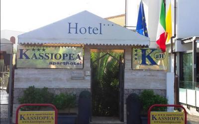 Italija. Sicilijos sala. Taormina. Džardini-Naksas. Kassiopea Hotel