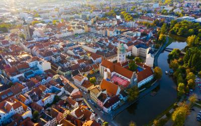 eske Budejovic miestas