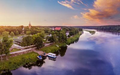 Birštono panorama