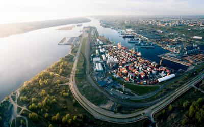 Klaipėdos panorama