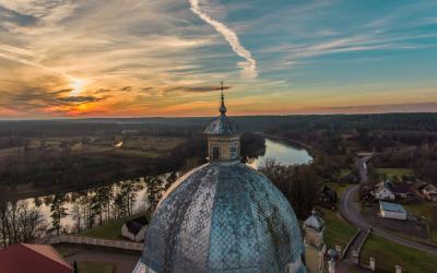Liškiavos Švč. Trejybės bažnyčios stogas