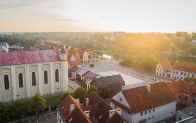 Kėdainių panorama