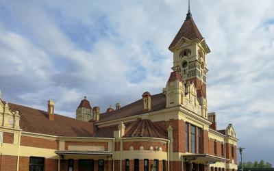 Traukinių stotis, Marijampolė