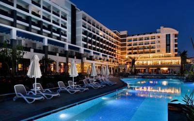Turkija. Sidė. Kumkoy. Seaden Valentine Resort & Spa