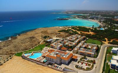 Kipras. Agia Napa. Aktea Beach Village