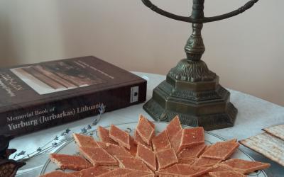 Imberlachai ir knyga apie Jurbarką