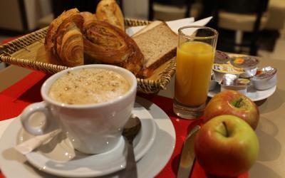 Pusryčiai.